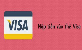 Nạp tiền vào thẻ visa online
