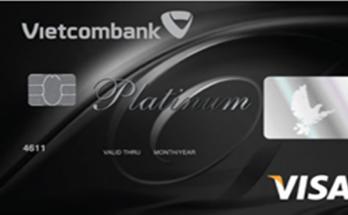 Thẻ Visa Platinum Vietcombank