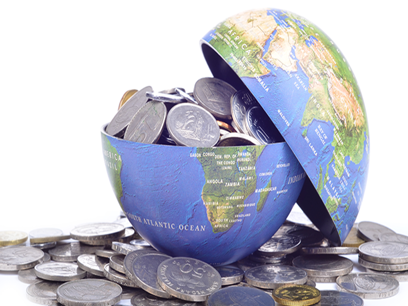 Thẻ Visa thực hiện giao dịch trên toàn thế giới
