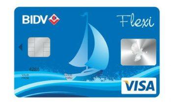 làm thẻ Visa BIDV mất bao nhiêu tiền