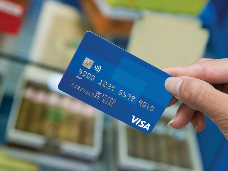 Thẻ Visa được phát hành và sử dụng khắp thế giới