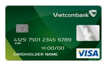 số thẻ Visa Vietcombank nằm ở đâu