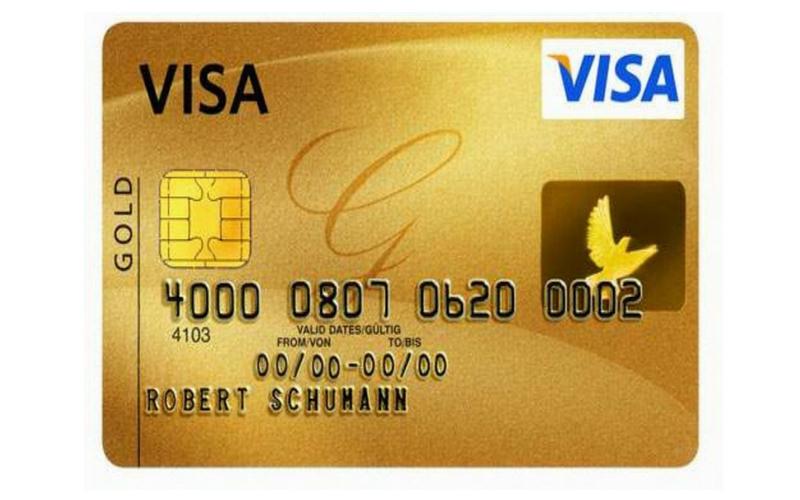 Thẻ Visa được sử dụng phổ biến trên toàn cầu