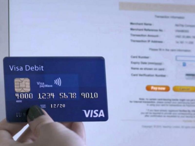 Mua hàng online quốc tế dễ dàng với thẻ Visa