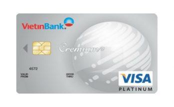 làm thẻ visa Vietinbank