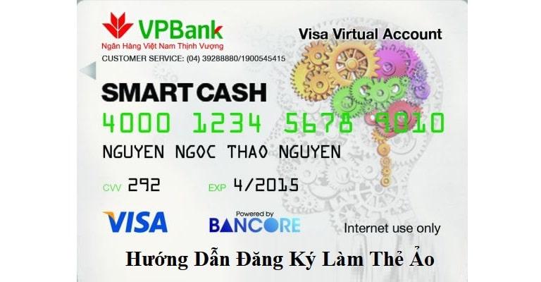 Thẻ Visa ảo Smartcash của VPBank có nhiều tính năng tiện ích, thuận tiện cho người dùng.